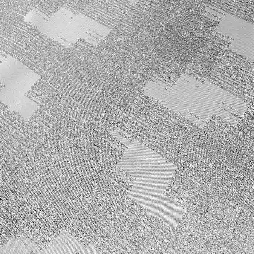 پارچه ژاکارد سیملی پله ای رنگ طوسی