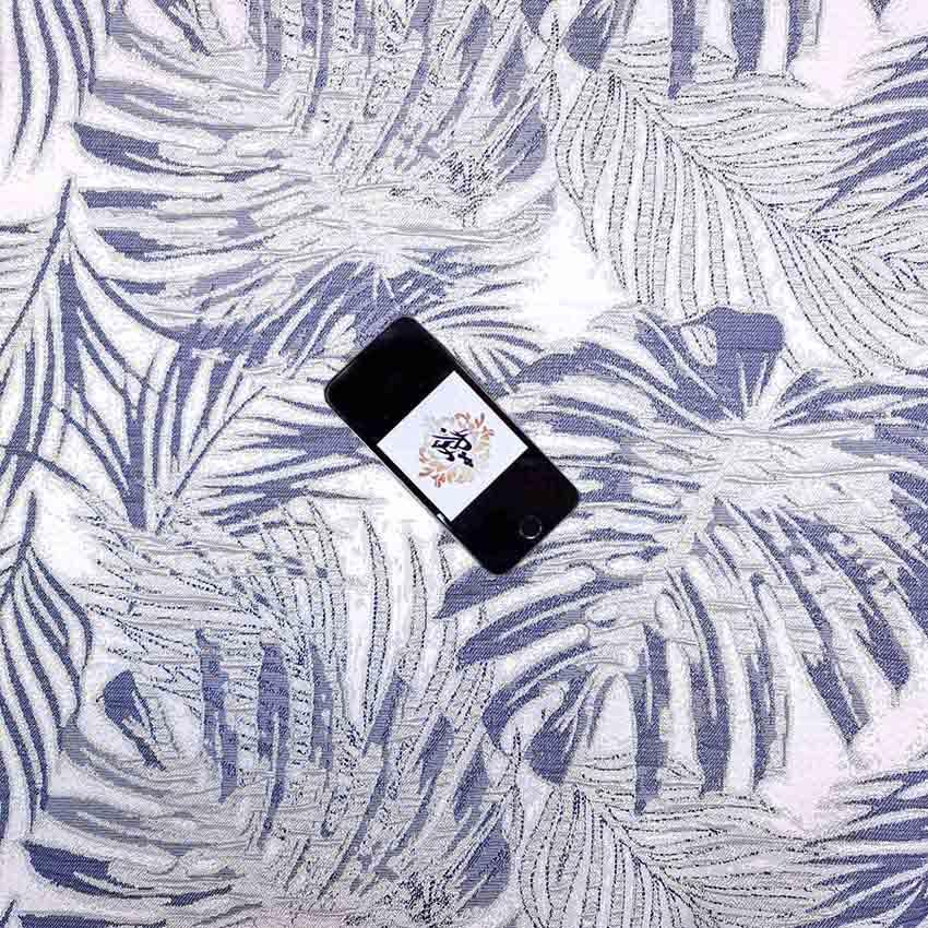 ژاکارد سیملی السانا رنگ بنفش کبود