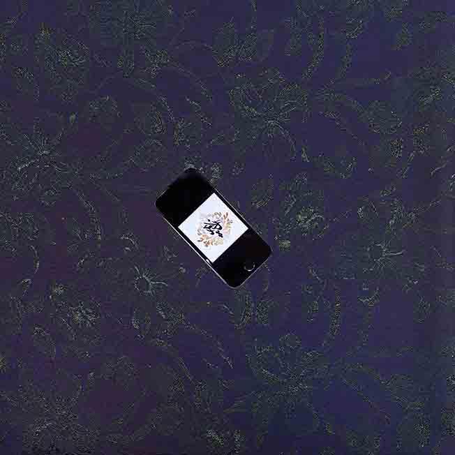 پارچه ژاکارد ویسکوز تامیلا رنگ سرمه ای سبز