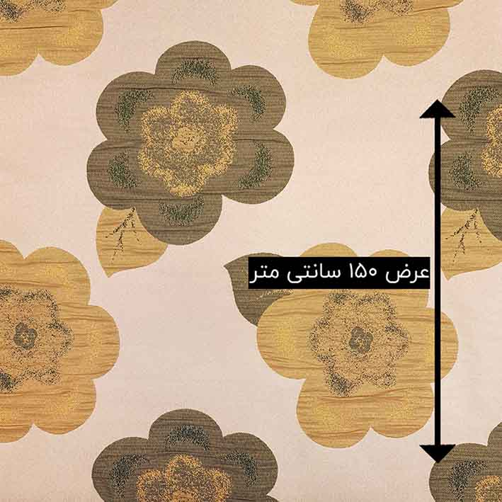 ژاکارد سیملی تندیس رنگ زیتونی