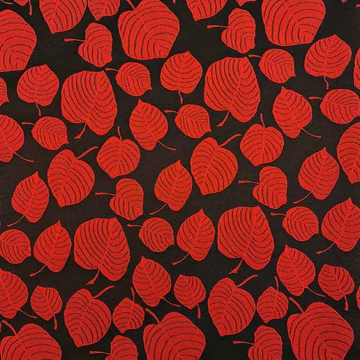پارچه ژاکارد ویسکوز آلما رنگ قرمز
