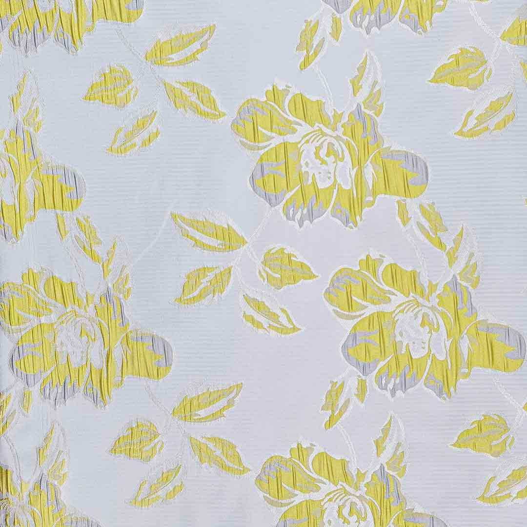 پارچه ژاکارد ویسکوز ثمین رنگ کهربایی