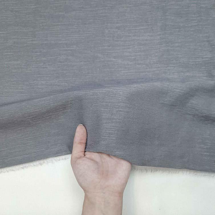 پارچه کتان کریستال رنگ 9 طوسی
