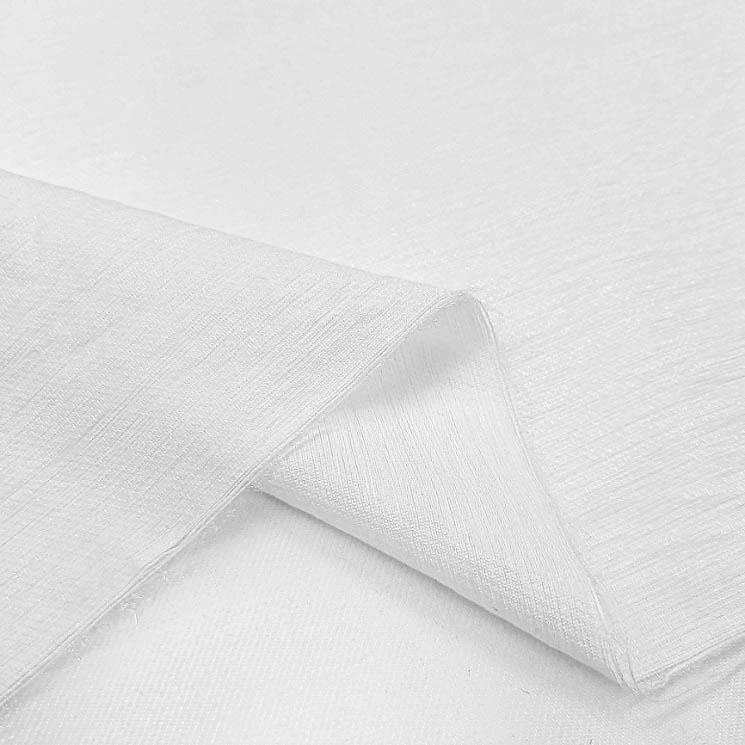 پارچه کتان کریستال رنگ 10 سفید