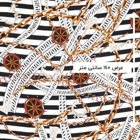 پارچه نخی طرحدار رنگ 26
