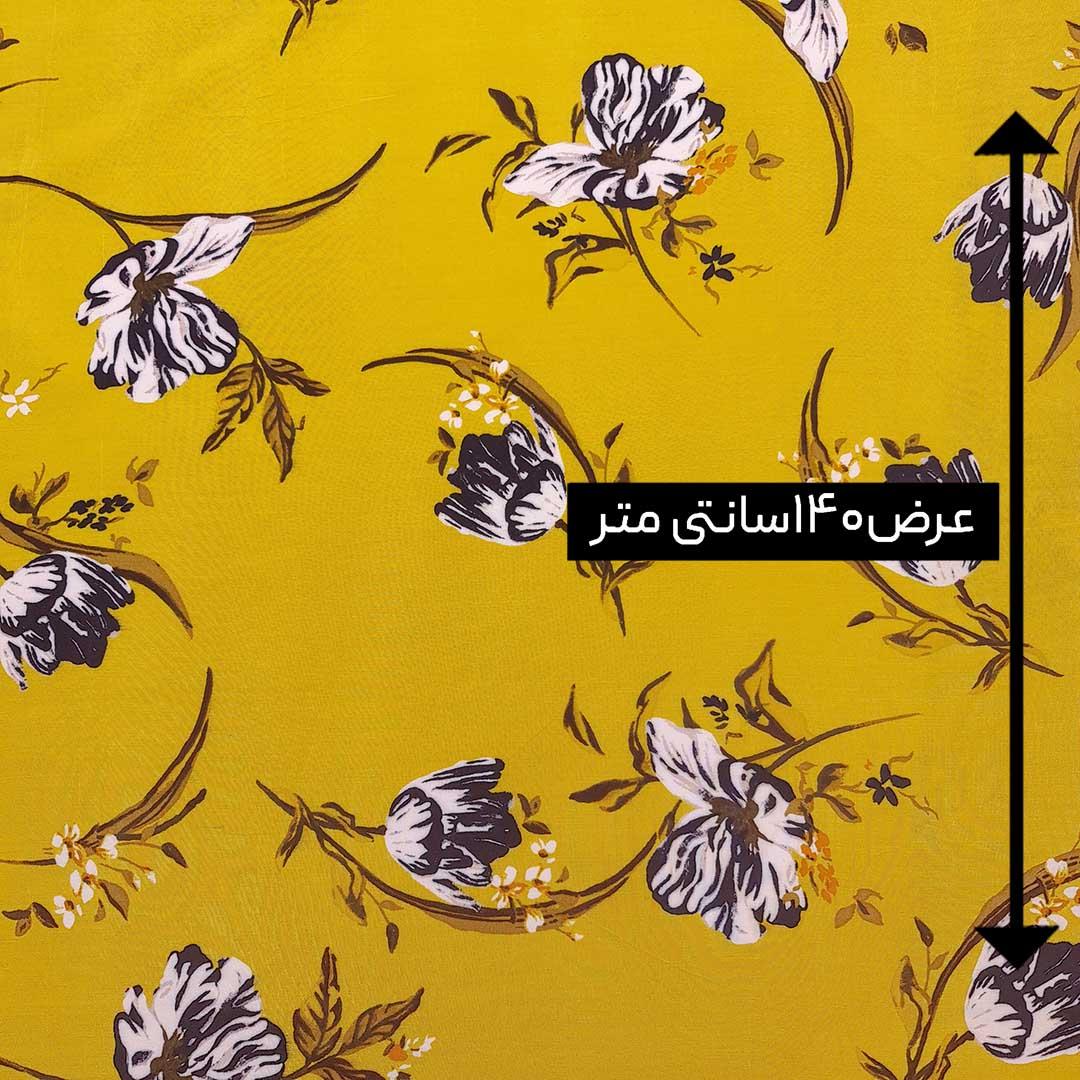 پارچه نخی طرحدار رنگ 178