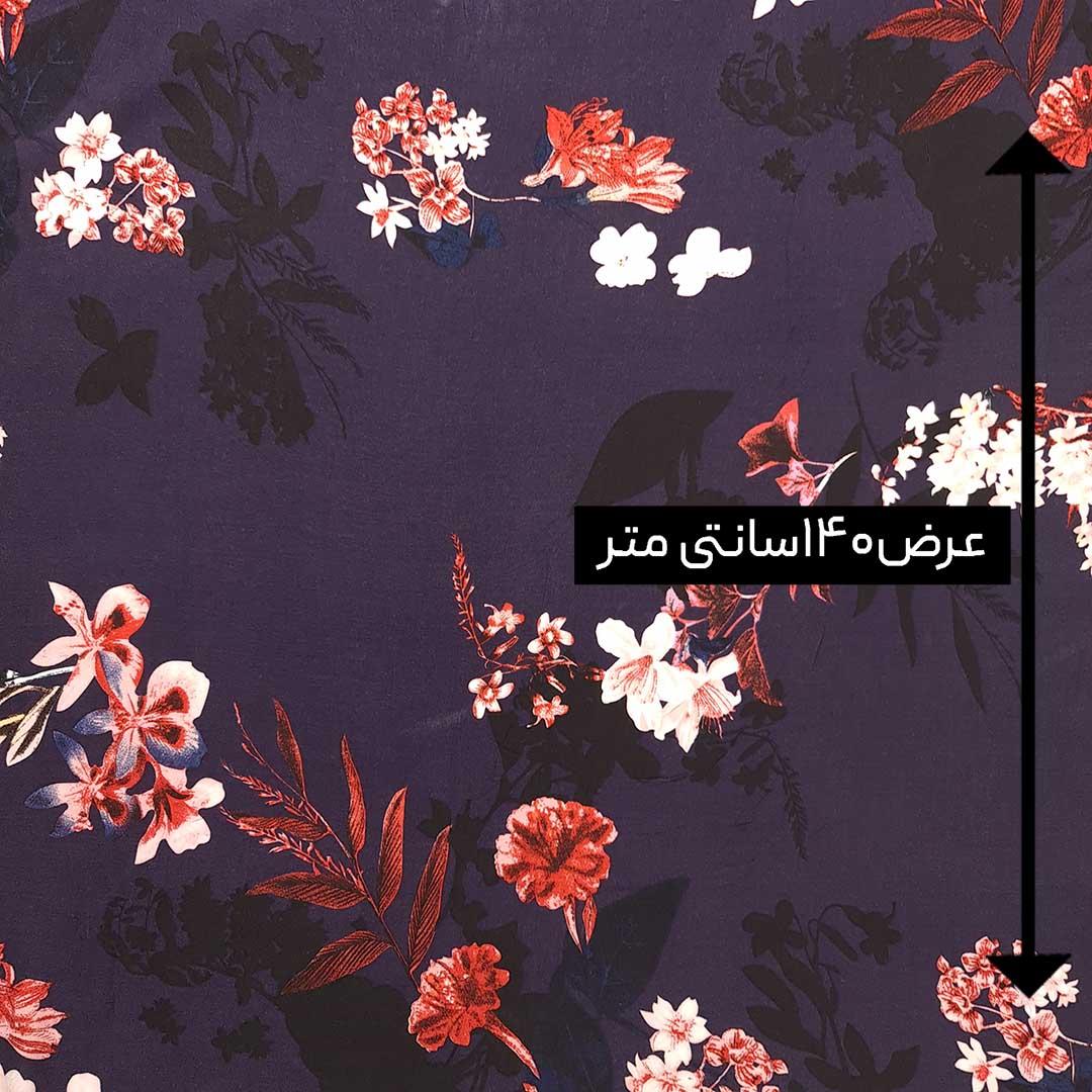 پارچه نخی طرحدار رنگ 183
