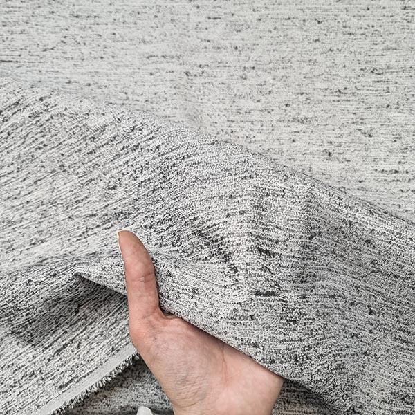 پارچه ژاکارد ساده شاین رنگ 4 نوک مدادی