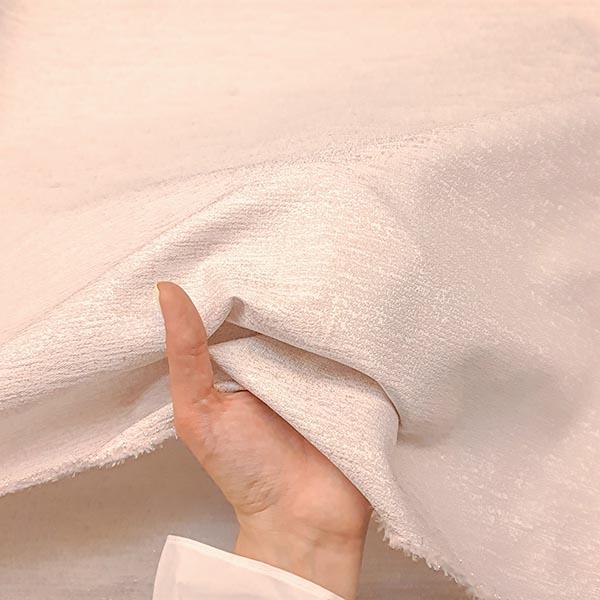 پارچه ژاکارد ساده شاین رنگ 9 صورتی یخی