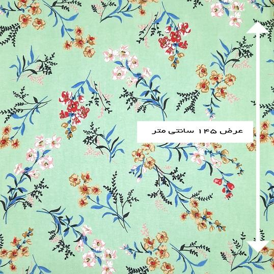 پارچه نخی طرحدار رنگ 817612