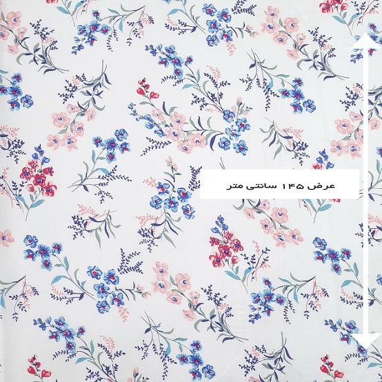 پارچه نخی طرحدار رنگ 817613