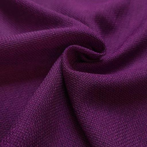 پارچه شانتون کنفی بافت رنگ بنفش آمیتیس