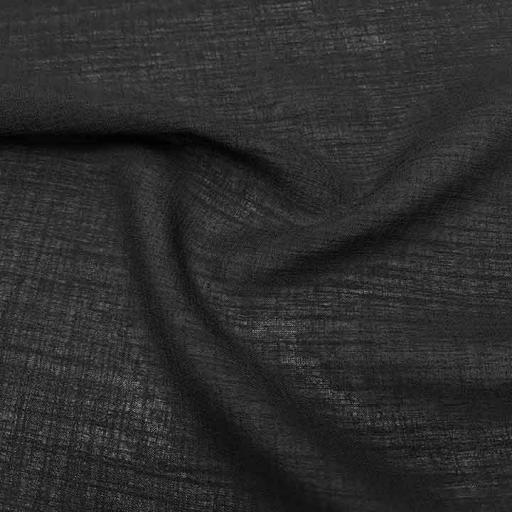 پارچه شانتون عبایی رنگ 6 مشکی