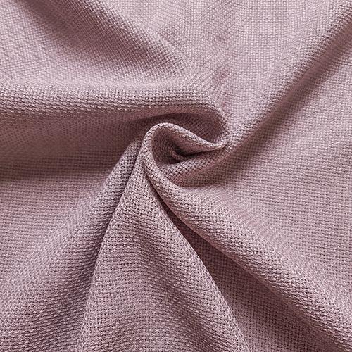 پارچه شانتون کنفی بافت رنگ یاسی