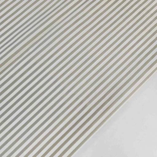 پارچه پوپلین راه راه رنگ خاکی