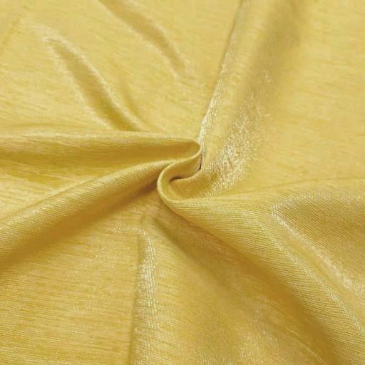 پارچه کتان کریستال رنگ 4 خردلی
