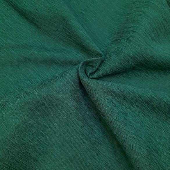 پارچه کتان کریستال رنگ 6 یشمی