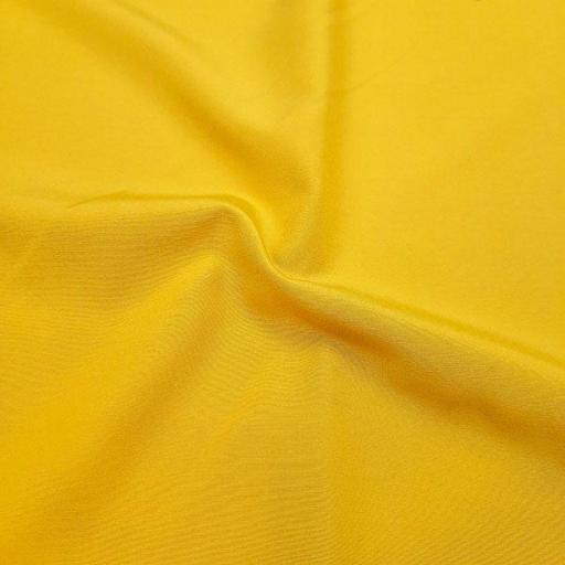 پارچه پوپلین ساده رنگ کهربایی