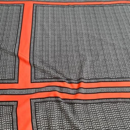 پارچه نخی طرحدار رنگ 191