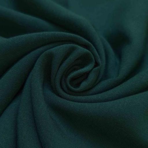 پارچه نخی ساده رنگ 13 یشمی کبود
