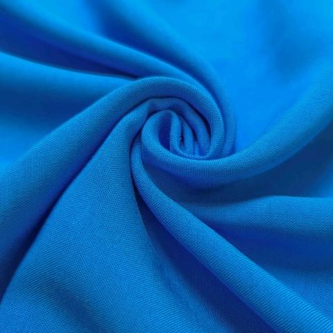 پارچه نخی ساده رنگ 24 آبی سایان