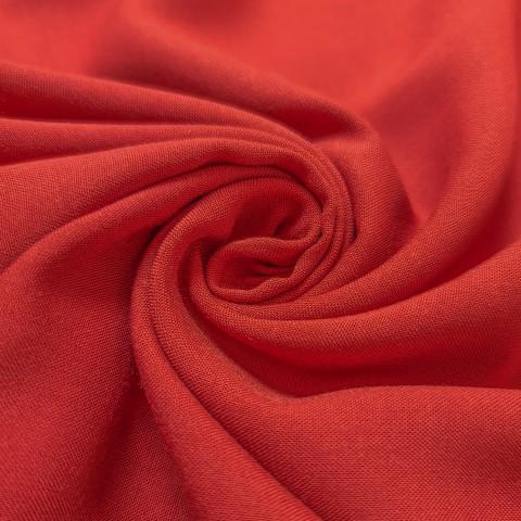 پارچه نخی ساده رنگ 44 نارنجی