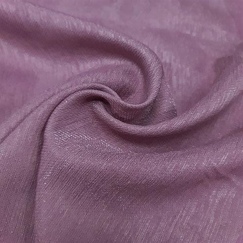 پارچه کتان کریستال رنگ 15 یاسی کبود