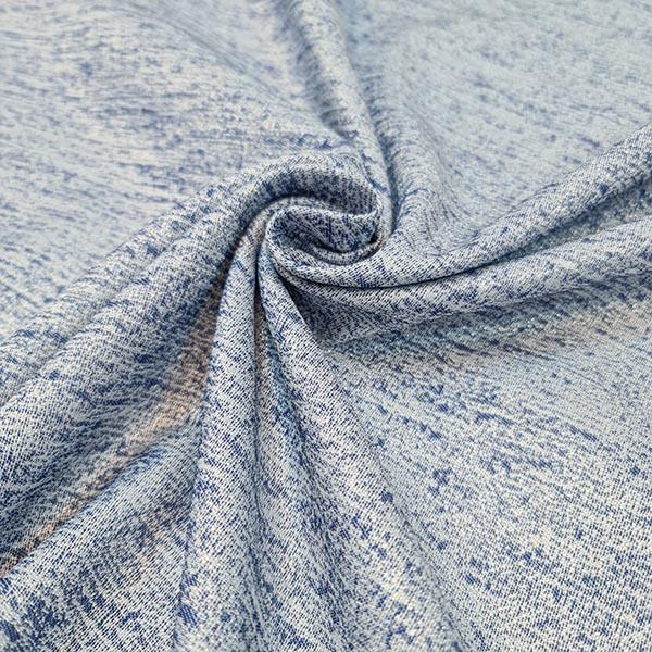 پارچه ژاکارد ساده شاین رنگ 6 جین