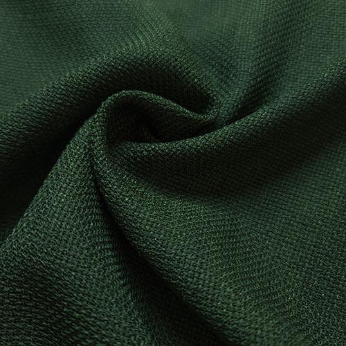 پارچه شانتون کنفی بافت رنگ سبز کبود